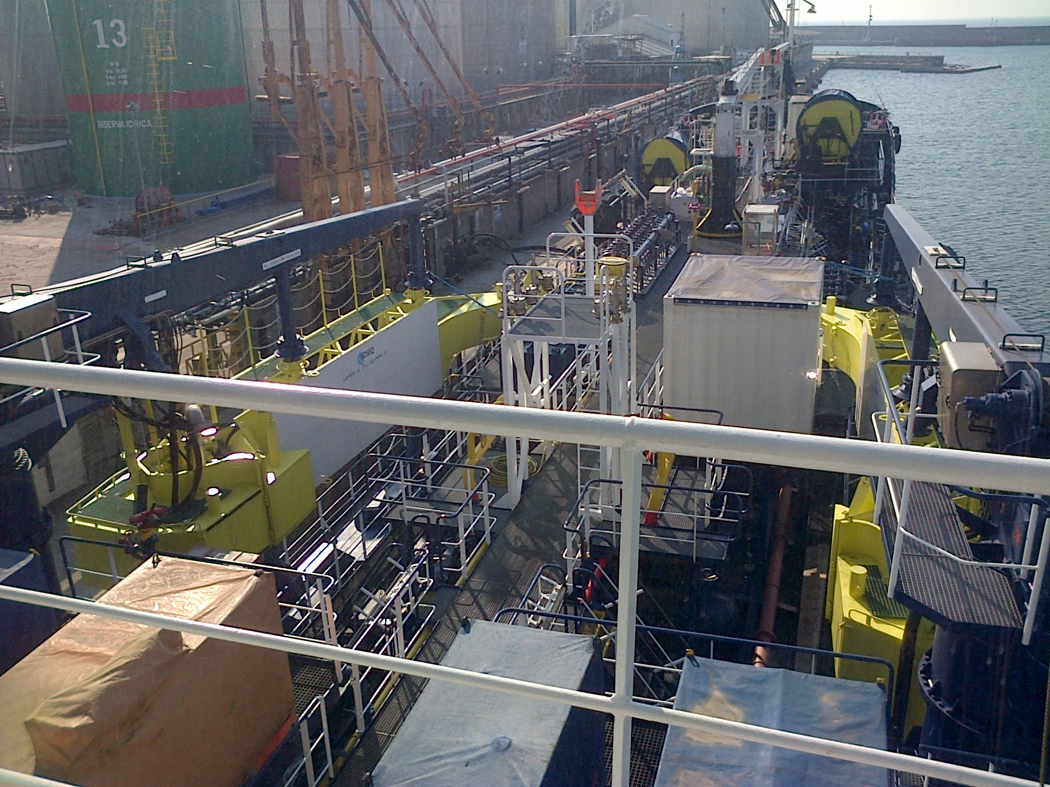 Installation of Oil Recovery Equipment